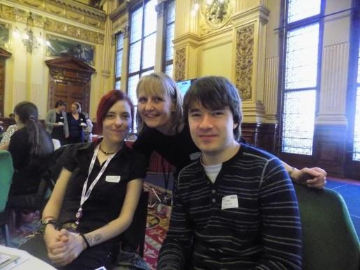 Micki and Euan with Alicia McKenzie, Administrator.